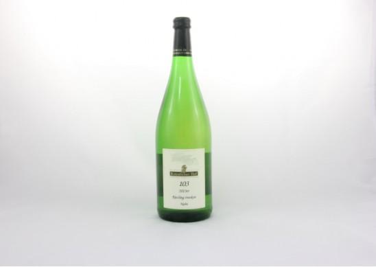 Riesling trocken, Qualitätswein b. A. Weingut Pleitz, Rotenfelser Hof, Traisen
